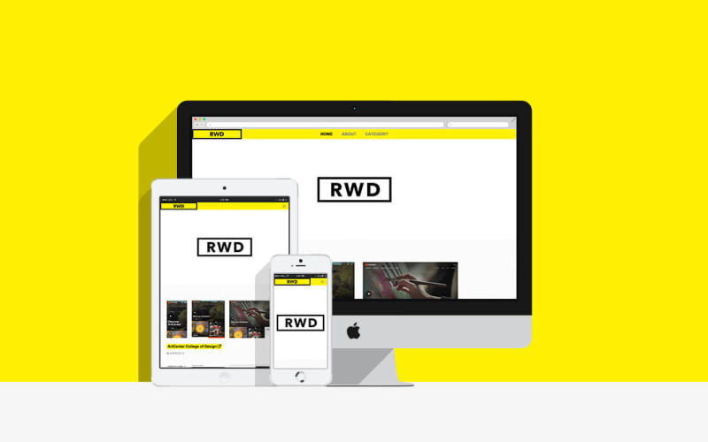 RWD / GALLERY SITE